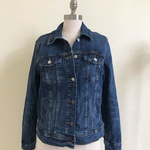 Classic Fit Denim Dark Denim Jacket